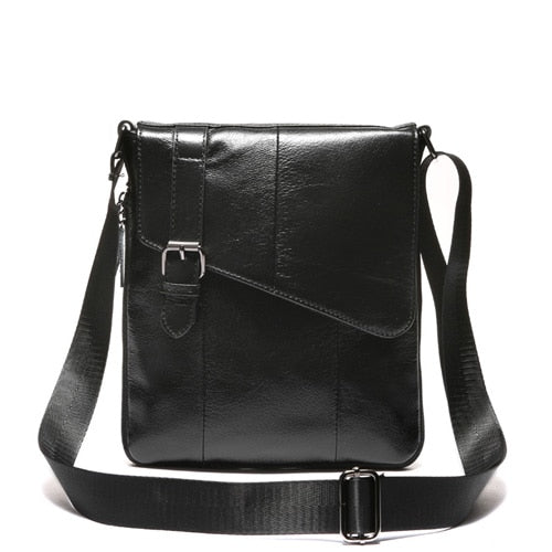 The Casual Mens High Quality Leather Shoulder Bag-Bags-Pickled Peppa