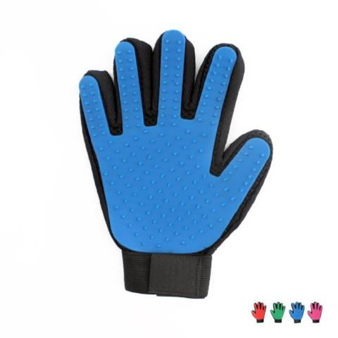 Pet Grooming Massage Glove With Brush That Your Pet Will Love! - ebuzzstore.com