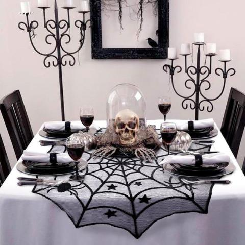 Spiderweb Table Cover-Home & Garden-Pickled Peppa
