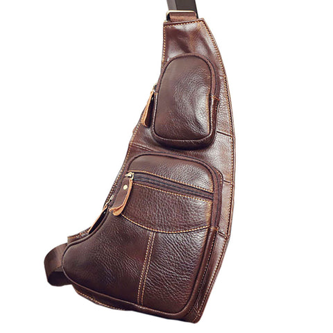 High Quality Gentlemen's Leather Vintage Chestpack - ebuzzstore.com