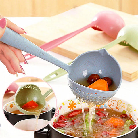 Child safe Colander Spoon