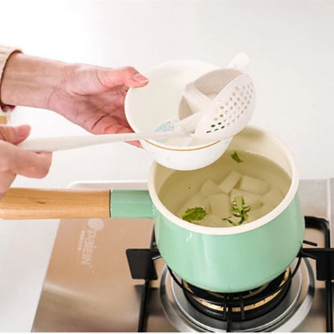 The Superb Multifunctional Soup Spoon Colander from Pickledpeppa.com