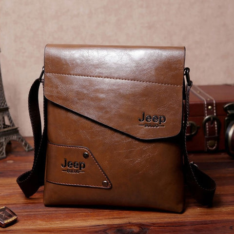 THE JEEP 2019 Luxury Leather Gentleman's Bag - ebuzzstore.com