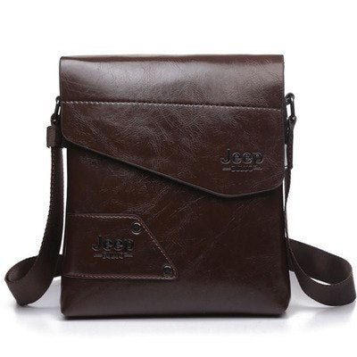 The Jeep 2019 Luxury Leather Gentleman's Bag-Bags-Pickled Peppa