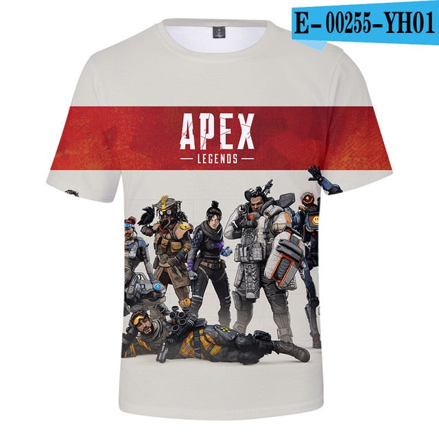 Apex Legends Short Sleeve T-shirt-T-Shirts-Pickled Peppa