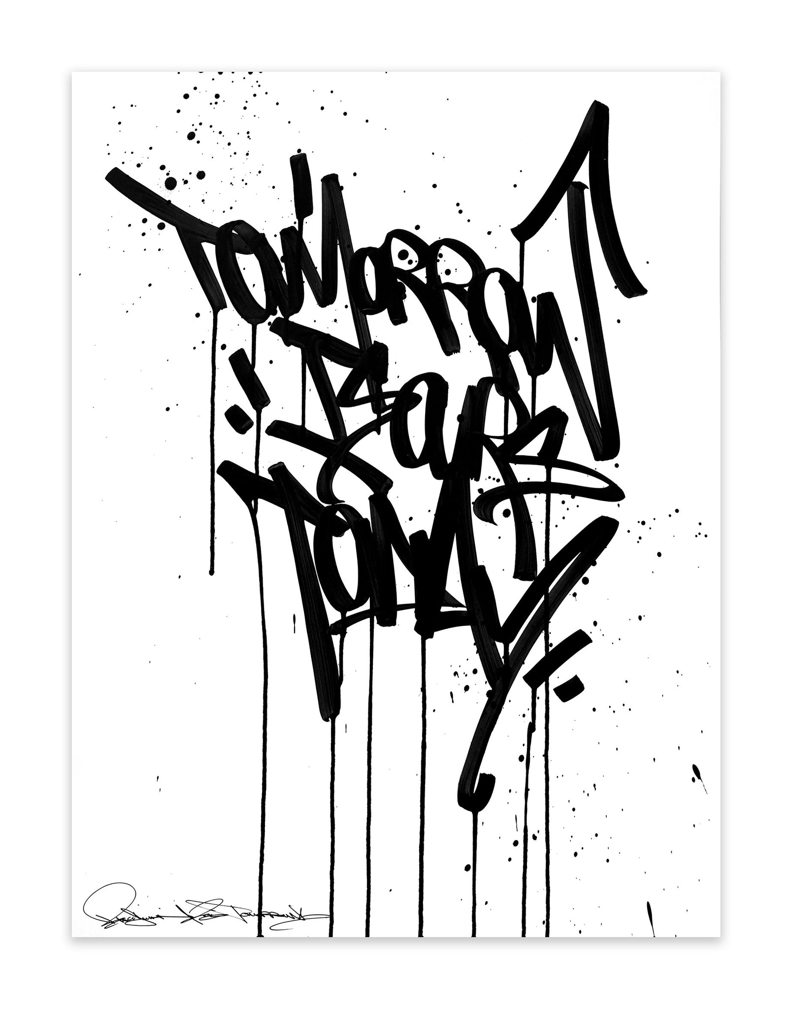 Fresh Ink - Tomorrow Is Ours Today - Bisco Smith