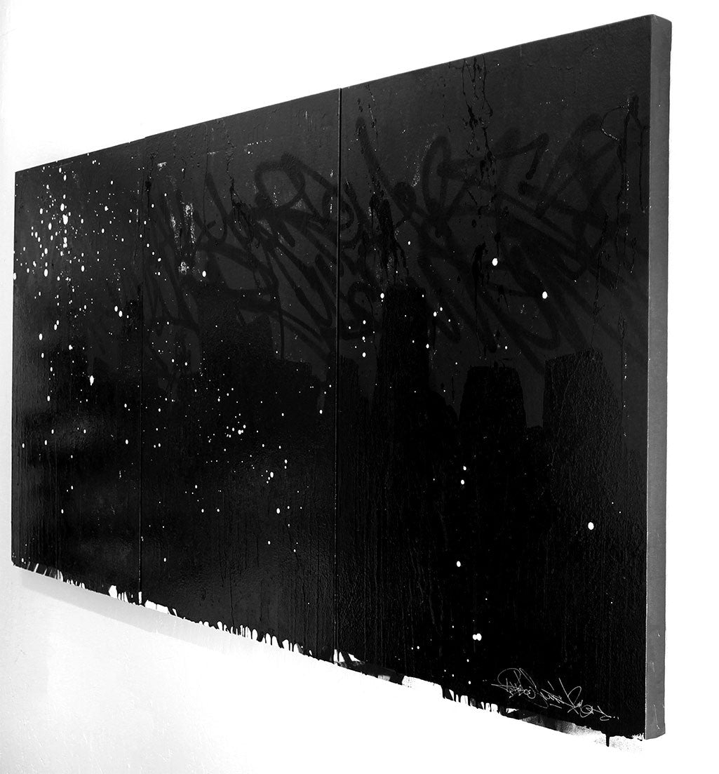 Midnight (Triptych) - 74x36