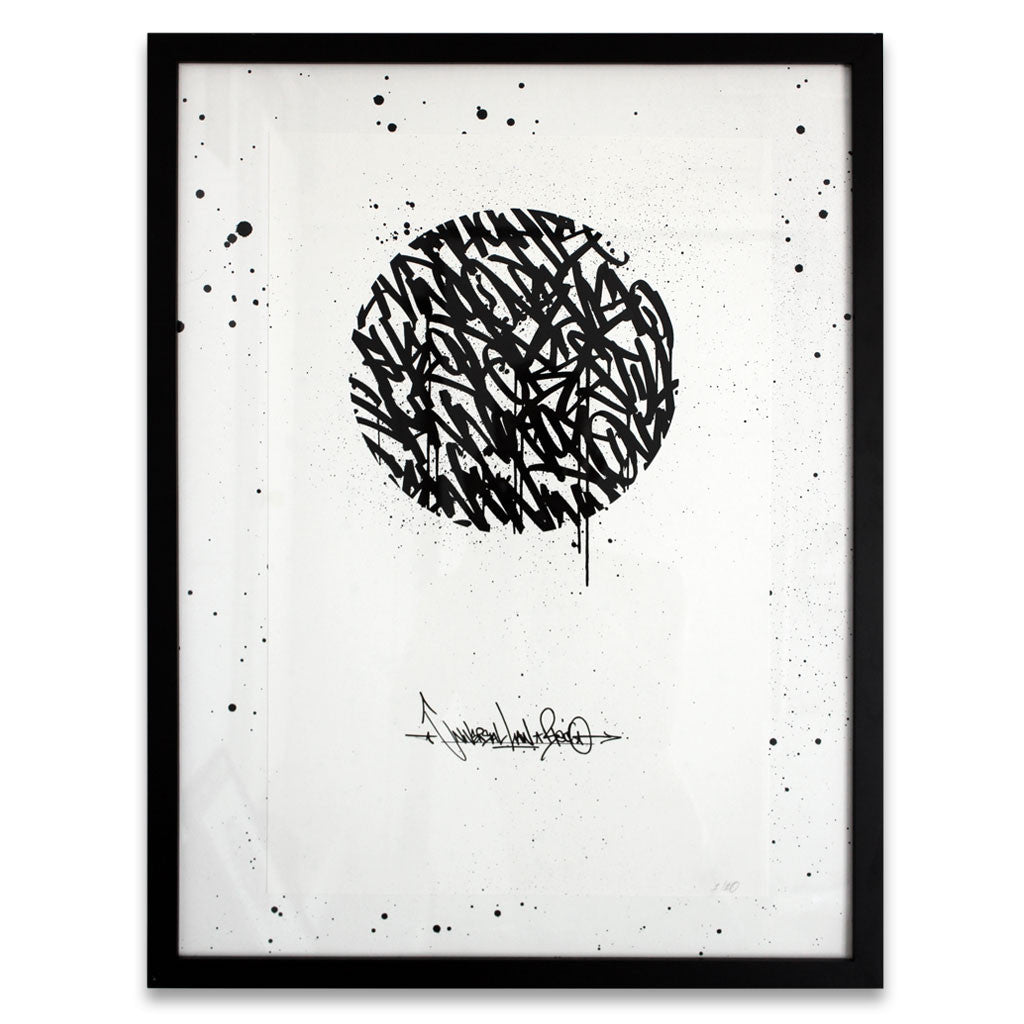 Universal Law - Framed Screen Print #1 / 10