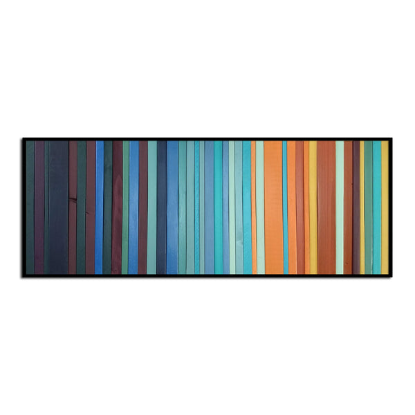 Harvest Faire - Modern Wood Wall Art