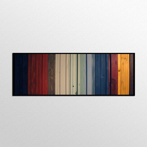 Gradient II - Reclaimed Wood Wall Art