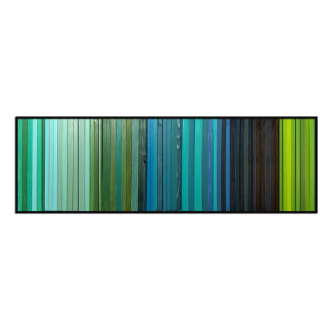 Lagoon -  Modern Wood Wall Art