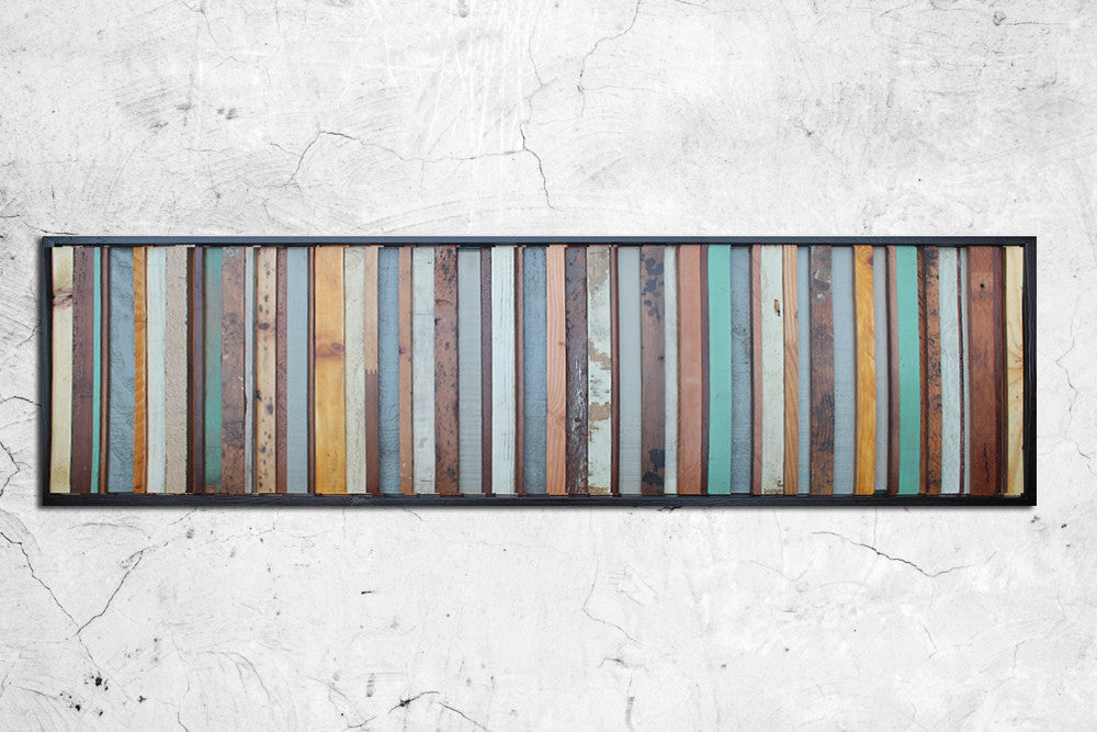 Savannah Distressed Wood Wall Art