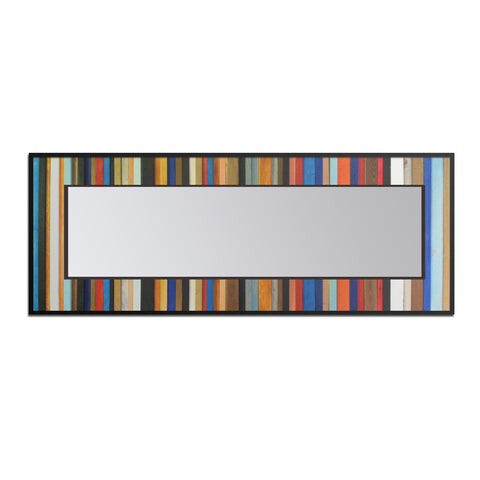 Rio Reflection - Wood Wall Art - Leaner Mirror