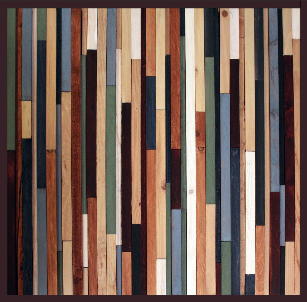 Sea Crest Reclaimed Wood Wall Sculpture