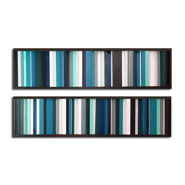 Got the Blues -  Reclaimed Wood Wall Art