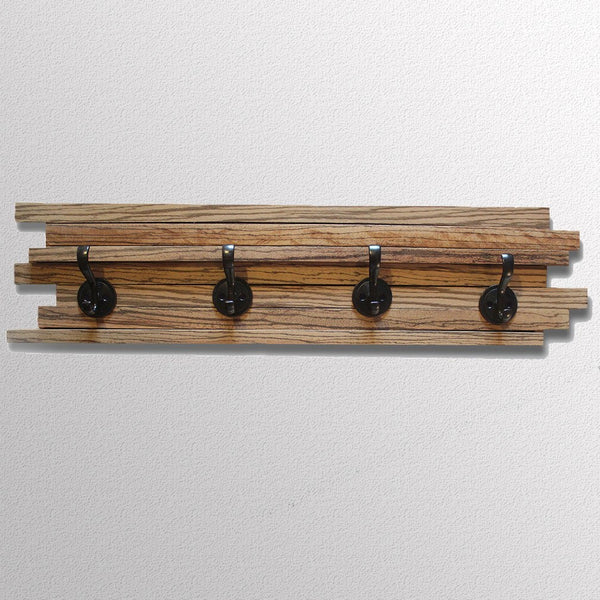 Coat Hooks - Zebrawood Wall Coat Hook