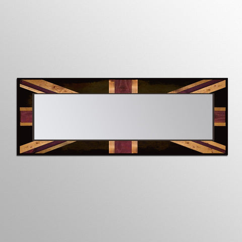 Mirrors - Union Jack Reflection - Wood Wall Art Leaner Mirror