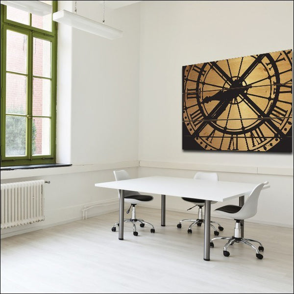 Panel Prints - Large Musée D'Orsay Clock Wood Wall Sculpture