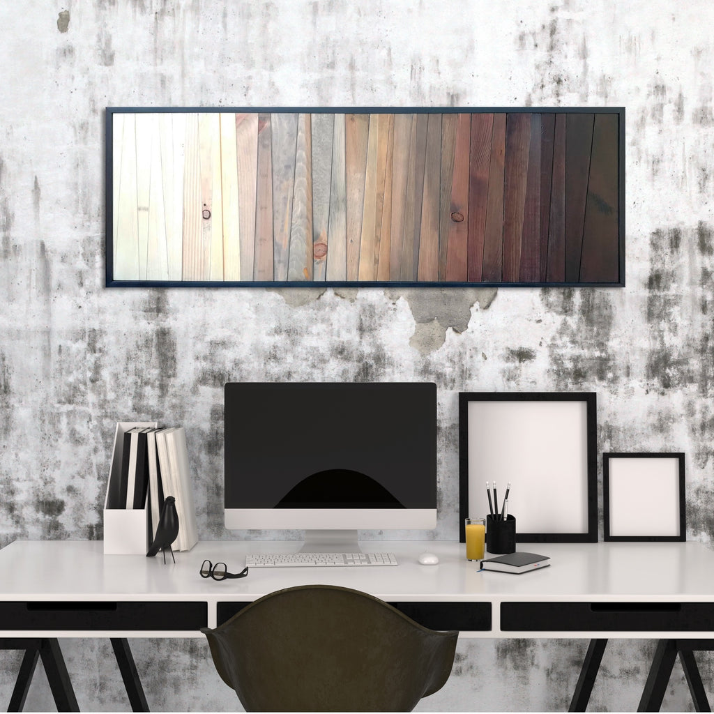 Ombre - Shadow Forest - Reclaimed Wood Wall Art