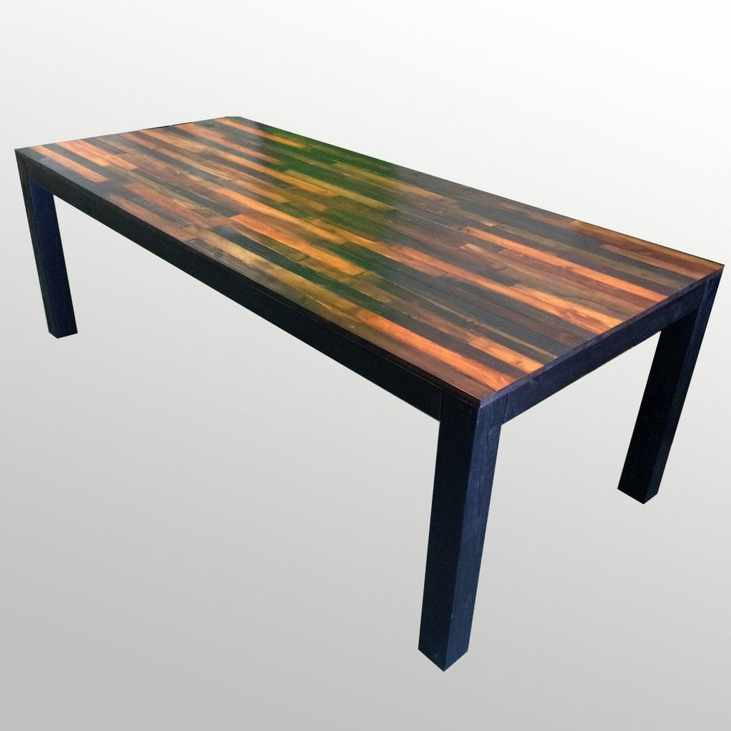 Tables   Handmade Weathered Wood Dining Table