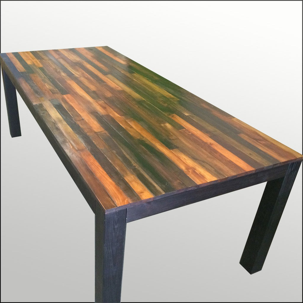 Exceptionnel ... Tables   Handmade Weathered Wood Dining Table ...