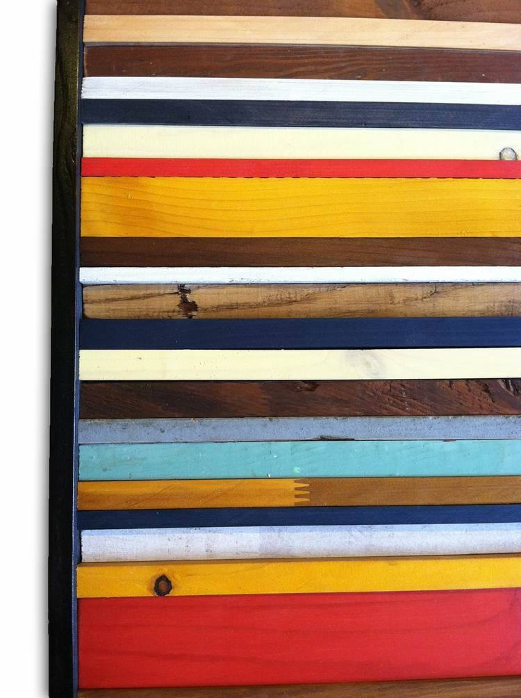 Wood Wall Art - Cape Cod Reclaimed Wood Wall Art