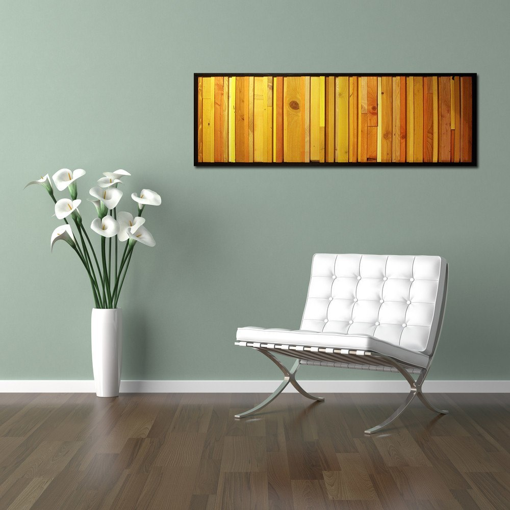 Wood Wall Art   Citrus Reclaimed Wood Wall Art
