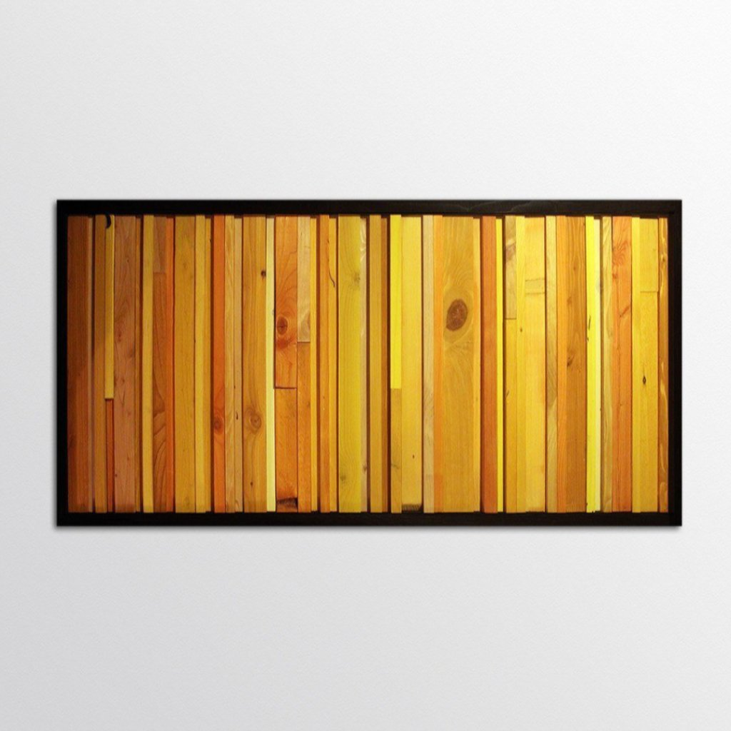 Citrus Reclaimed Wood Wall Art – Scrap Wood Designs