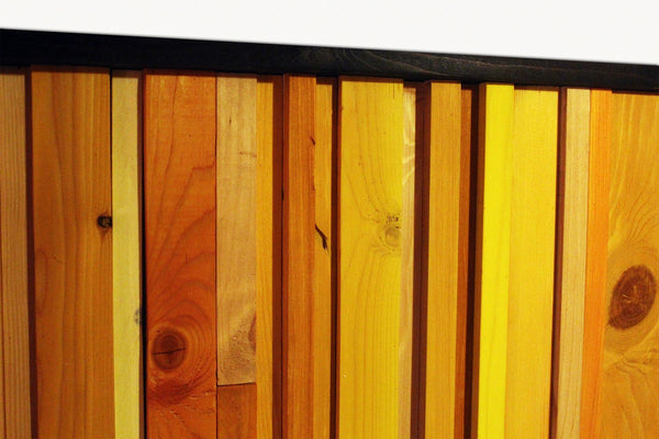 Wood Wall Art - Citrus Reclaimed Wood Wall Art