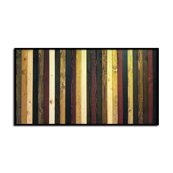 Stained Stripe Wood Wall Art