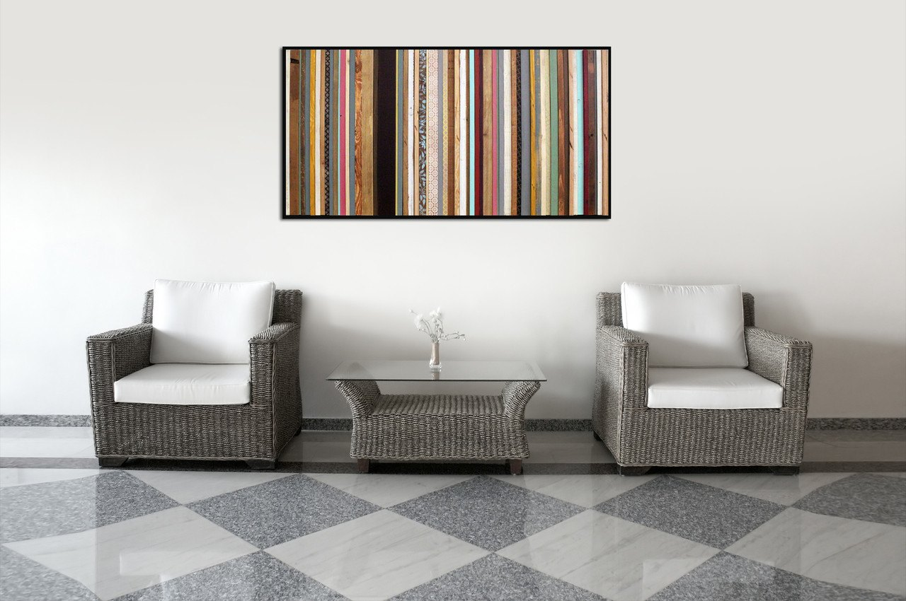 India wood wall art