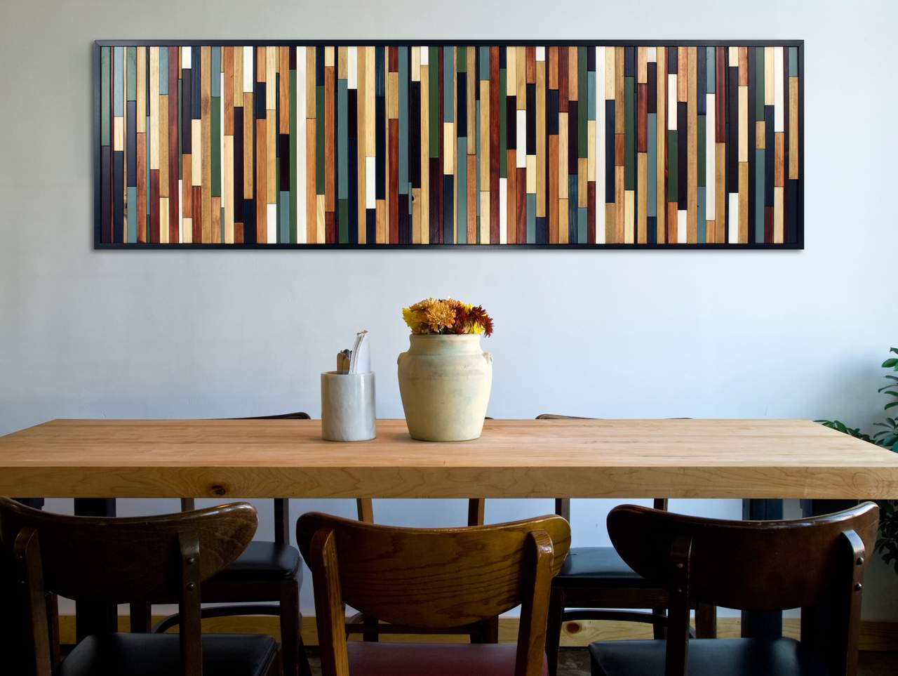 Sea Crest wood wall art