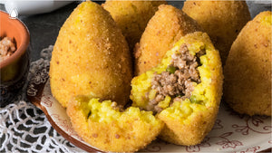 Recipe - How to make Sicilian Arancini with meat ragù