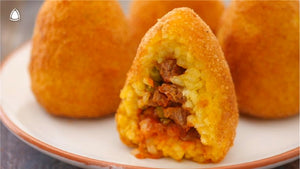 Recipe - Arancini with meat from Catania