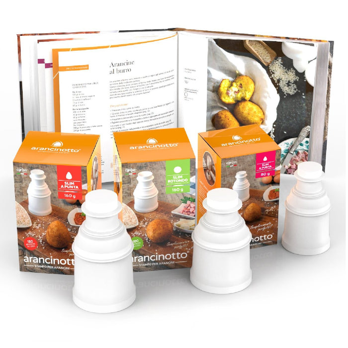 Promotion Kit - 3 Pack Arancini Maker + Recipe Book