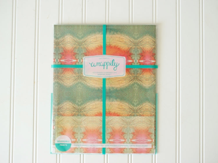 WRAPPILY Gift Wrap | Bunglo- Coral reef