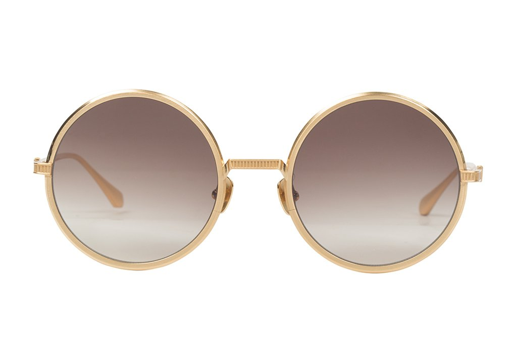 VALLEY EYEWEAR Raydar | Gold Titanium w/ Brown Gradient Lens