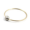 Free to Be Me Jewelry Single Fresh Water Pearl Bangle
