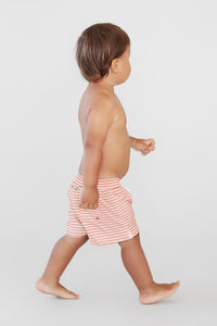 ACACIA BOYS Lil Boardies | Apricot Stripe