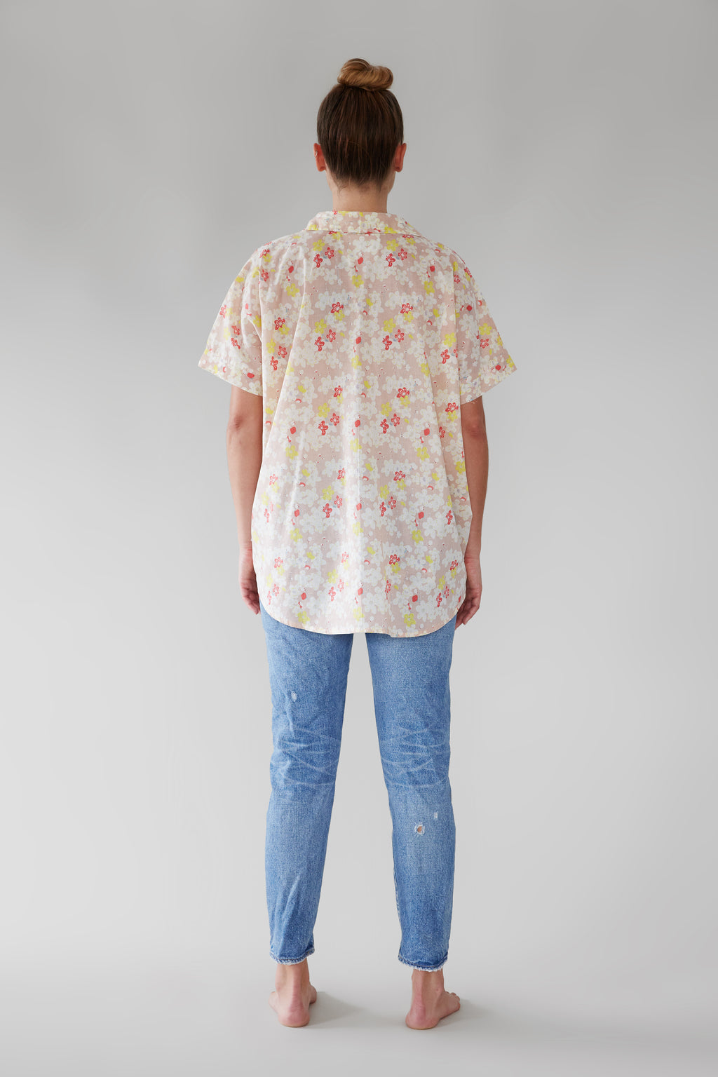 ACACIA Mombasa Button Up | Cherry