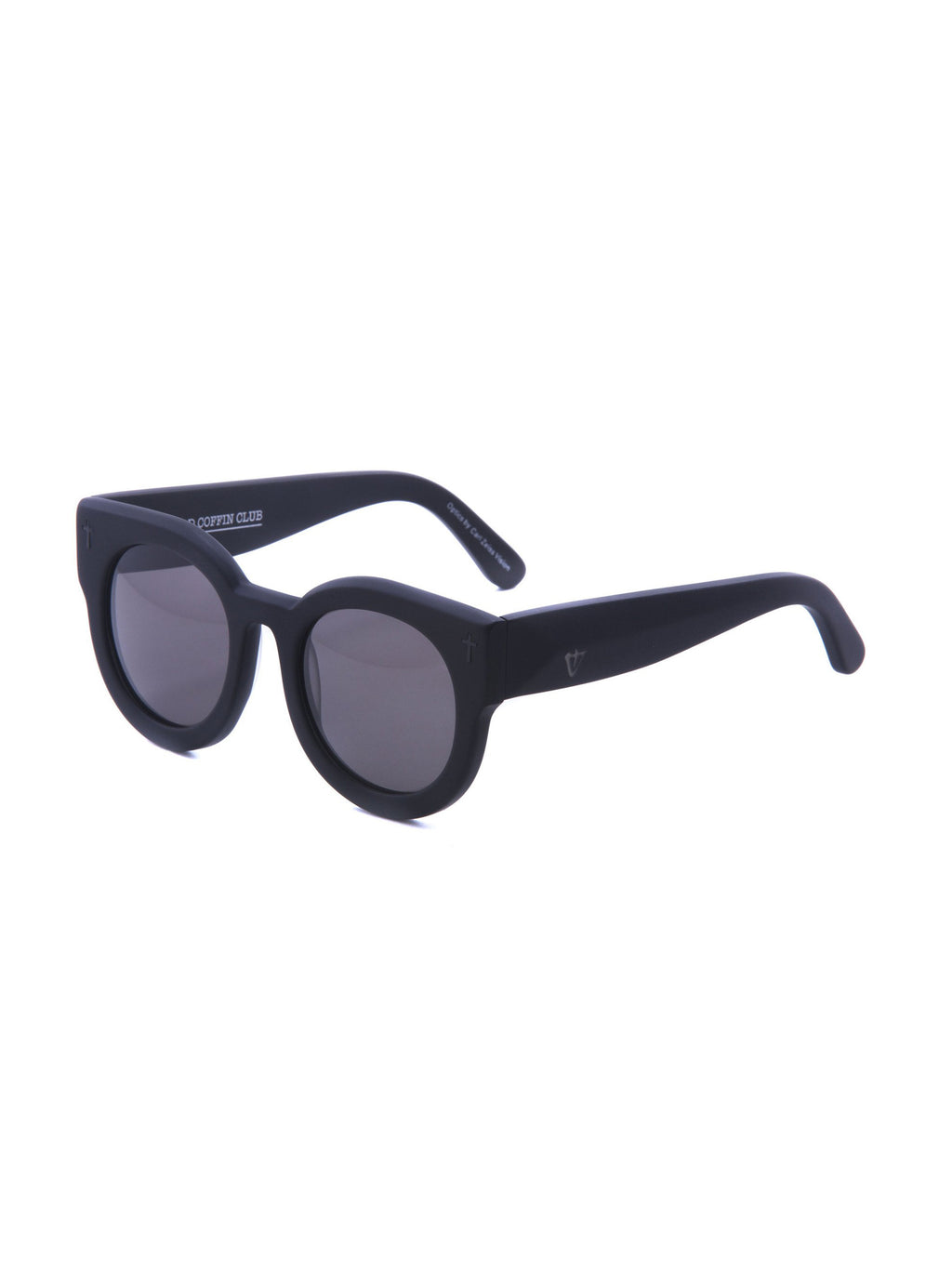VALLEY EYEWEAR ADCC | Matte Black / Black Lens