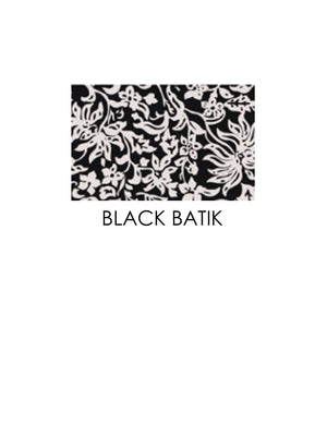 ACACIA Hookipa Bottom | Black Batik