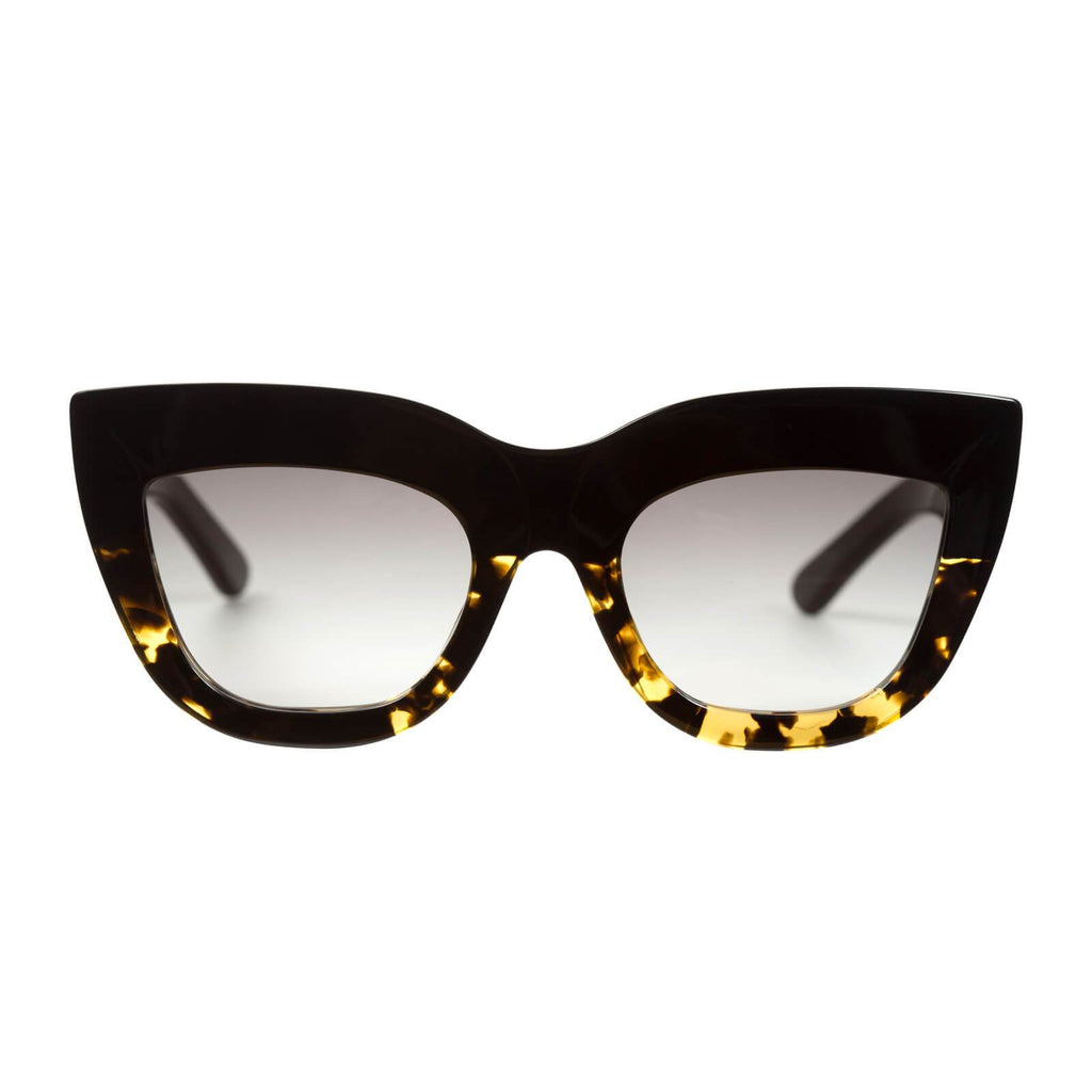 VALLEY EYEWEAR Marmont | Black to Tort / Black Gradient Lens