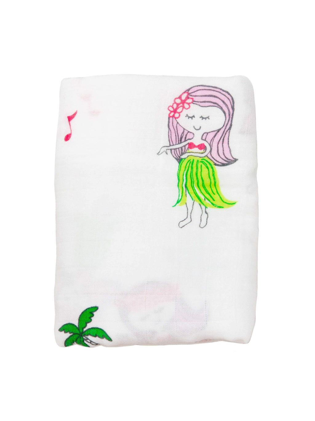 COCO MOON Swaddle Blanket | Hula Girls