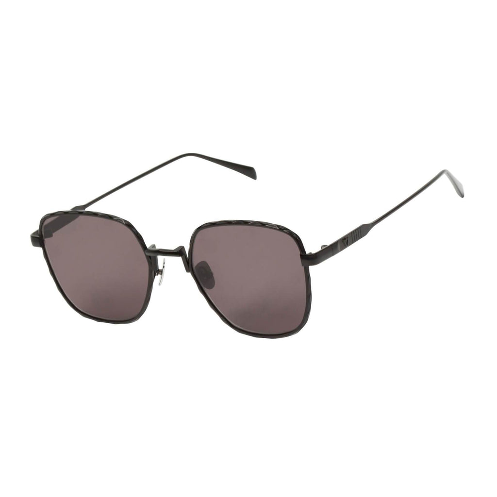 VALLEY EYEWEAR Dotan | Matte Black Titanium w/ Black Lens