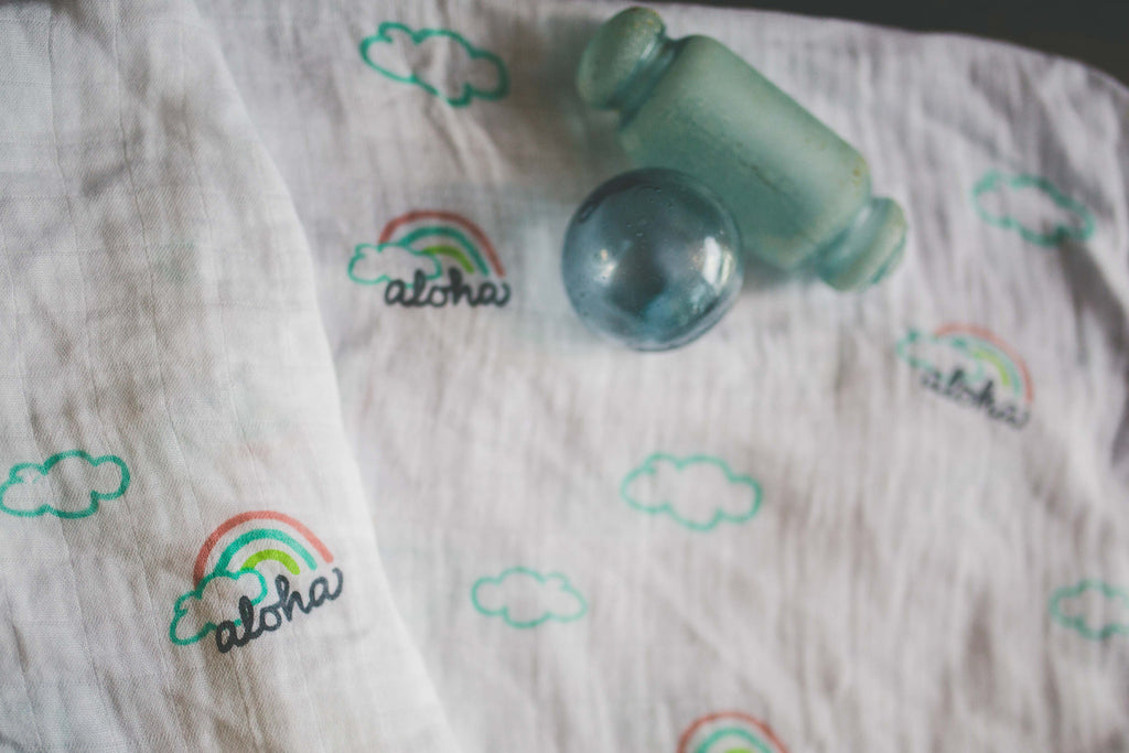 COCO MOON Swaddle Blanket | Pot of Aloha