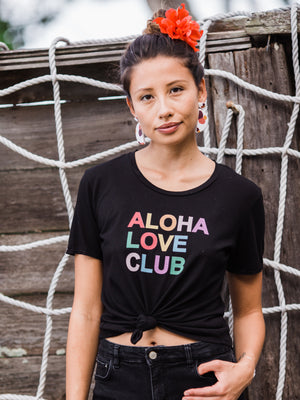 DOLKII Aloha Love Club | Lava Black