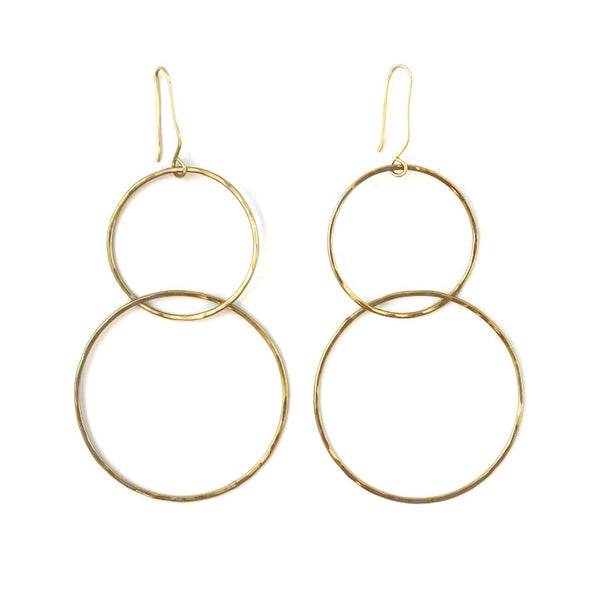 Free to Be Me Jewelry DOUBLE HOOP Earrings