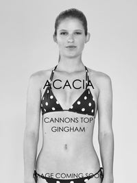 ACACIA Cannons Top | Gingham