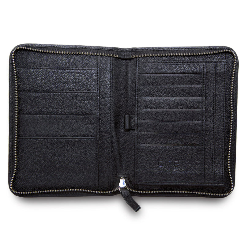 CLHEI Folio Wallet | Black